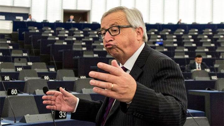 Juncker abronca a la Eurocámara porque solo acuden 30 eurodiputados a un debate