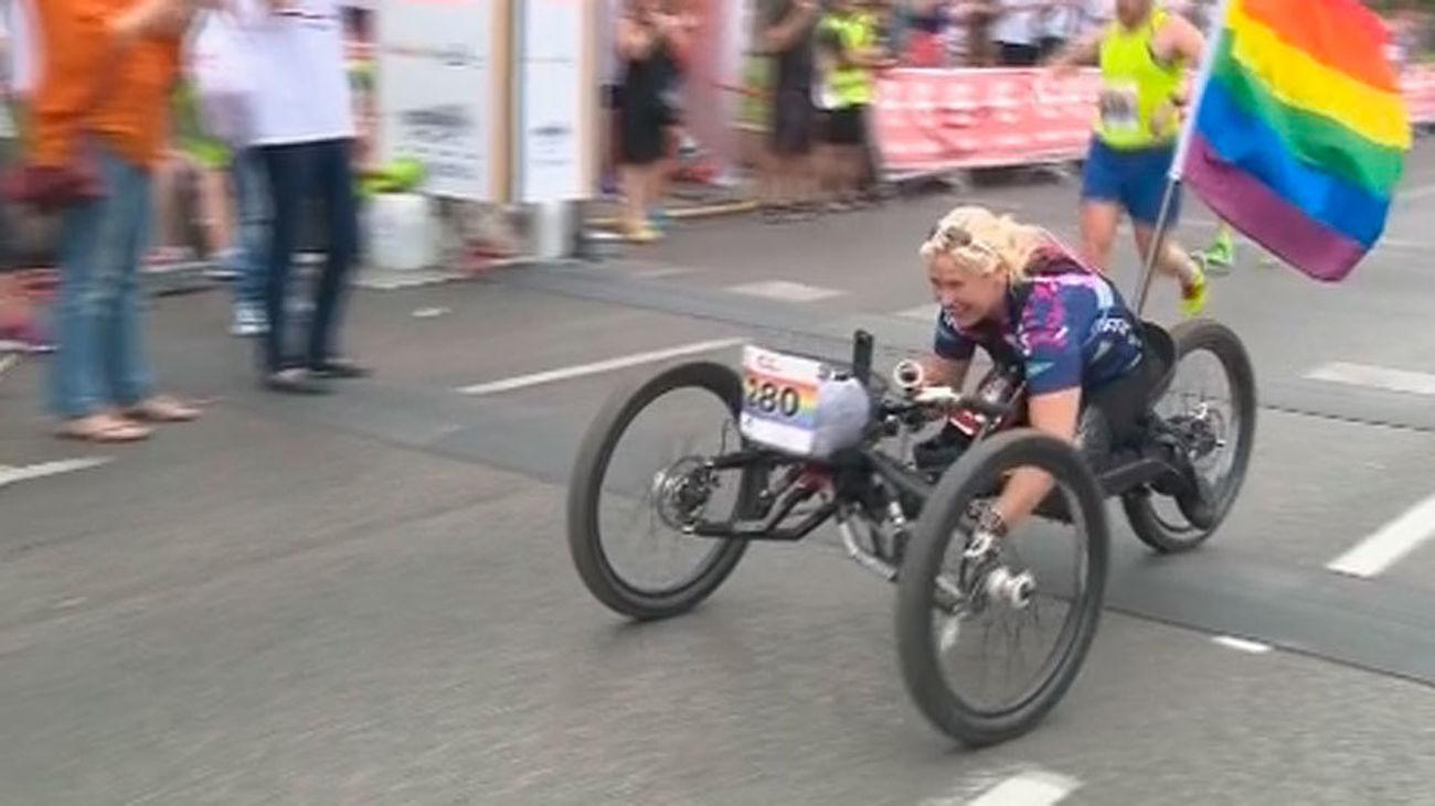 Detenido el ladrón de la bicicleta de la paralímpica Gema Hassen-Bey