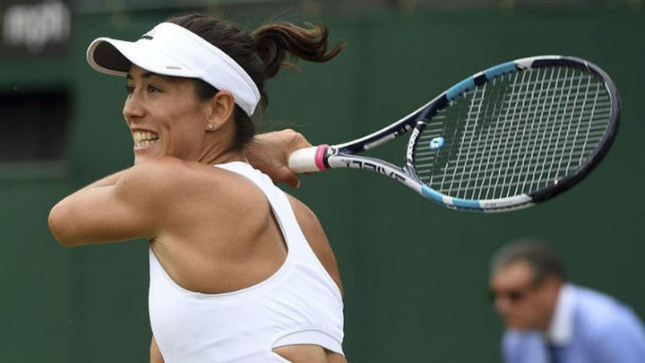 Wimbledon: Muguruza gana a Alexandrova, Ferrer a Gasquet y Ramos a Thompson