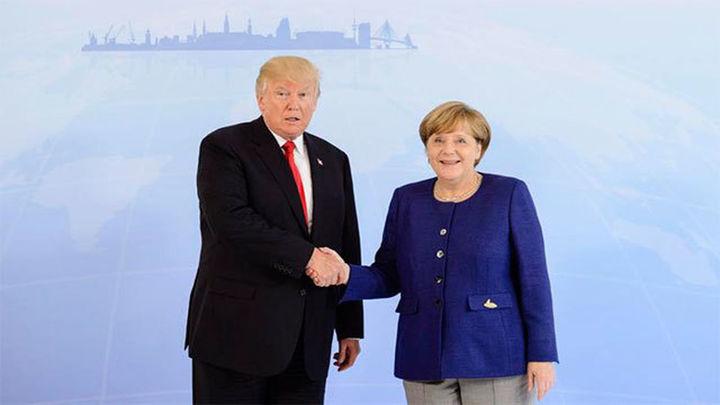 Merkel y Trump se entrevistan en Hamburgo antes de la cumbre del G20