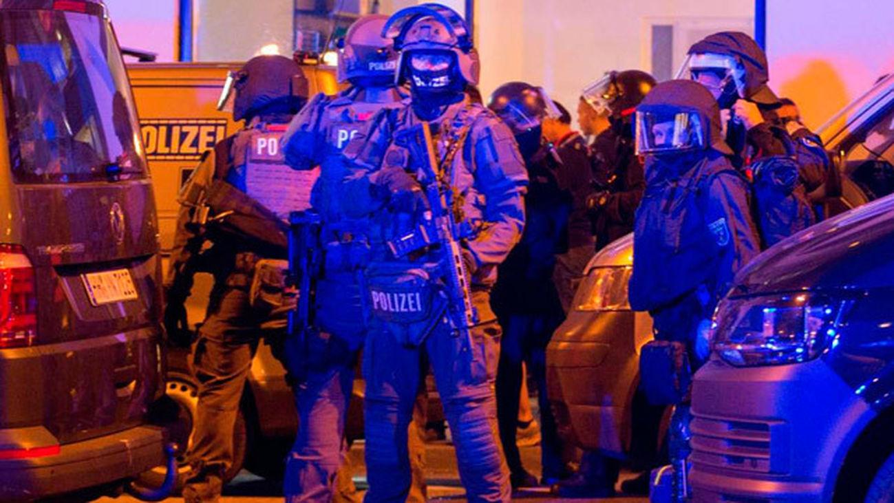 Disturbios en Hamburgo