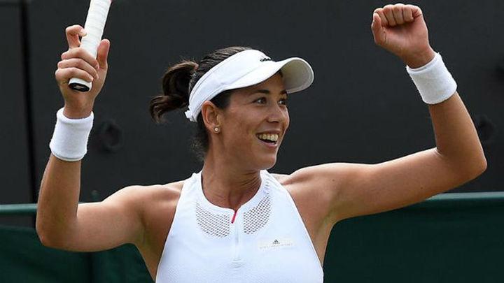 Wimbledon: Muguruza, a octavos; Ferrer y Ramos se despiden