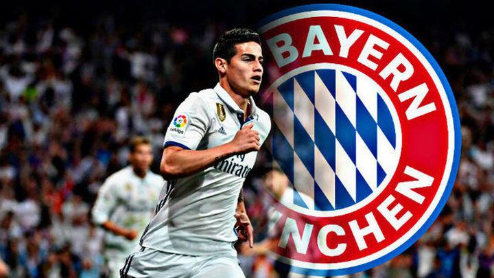 James se marcha cedido al Bayern de Munich