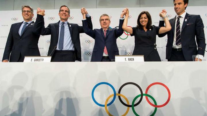 París y Los Ángeles, elegidas para acoger los JJOO de 2014 y 2028