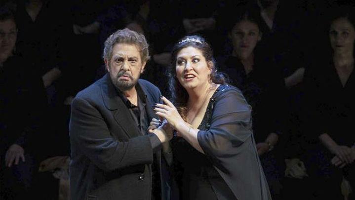 """Plácido Domingo celebra sus 3.900 funciones con un """"Macbeth"""" sobrecogedor"""