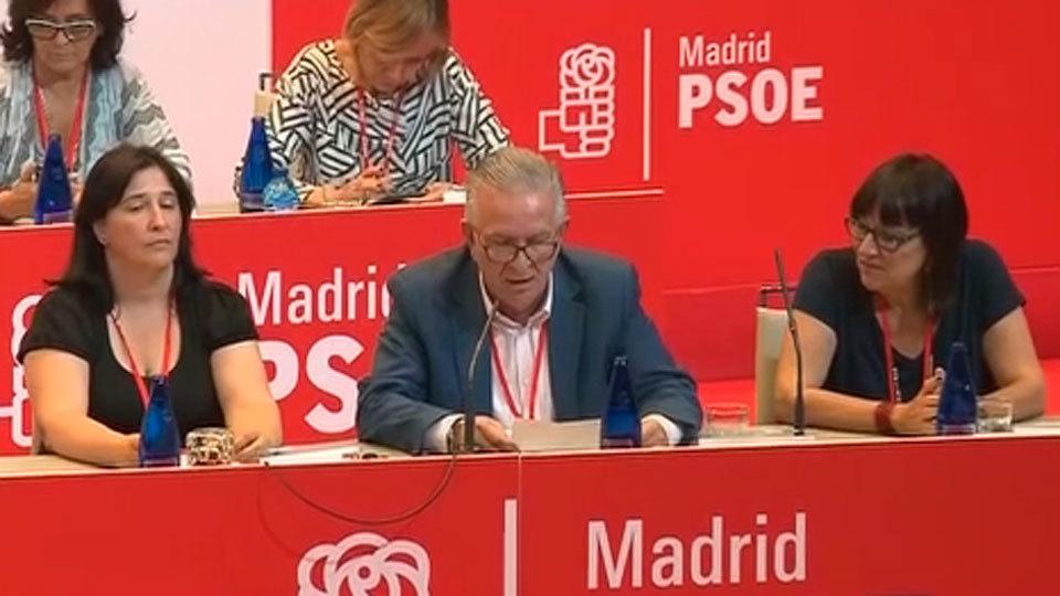 Reunión de la Ejecutiva del PSOE-M