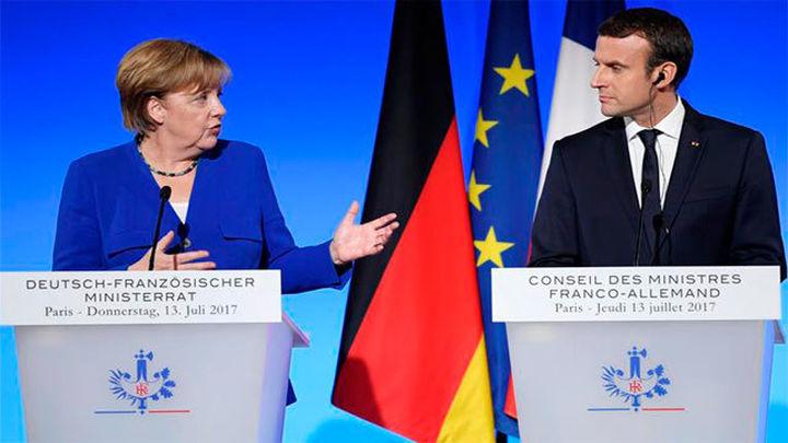 Merkel acepta las ideas de Macron para  la integración de la eurozona