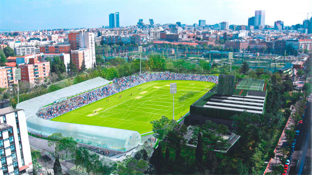 El estadio de vallehermoso abrir a finales de 2018 con for Piscina vallehermoso