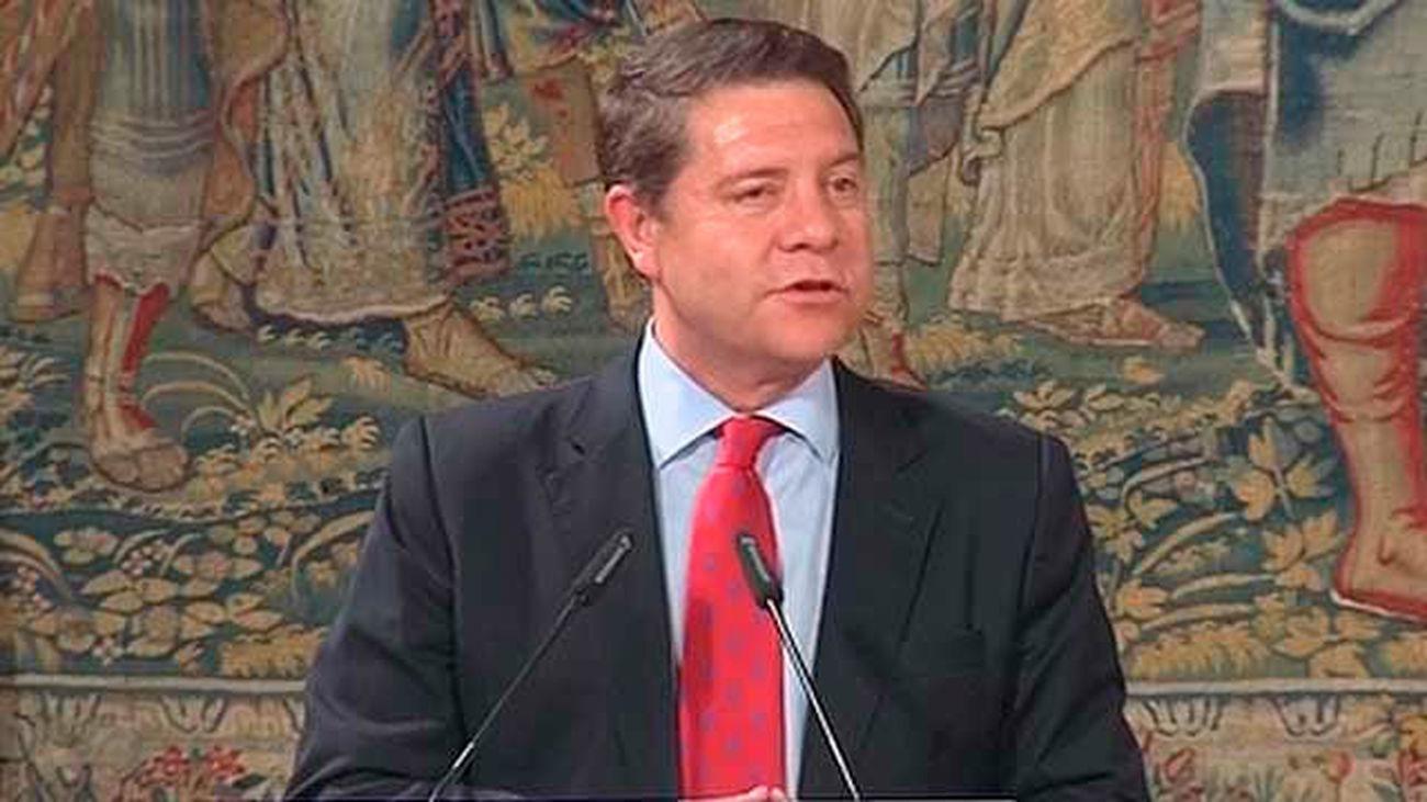 García-Page ofrece a Podemos entrar en el Gobierno de Castilla-La Mancha