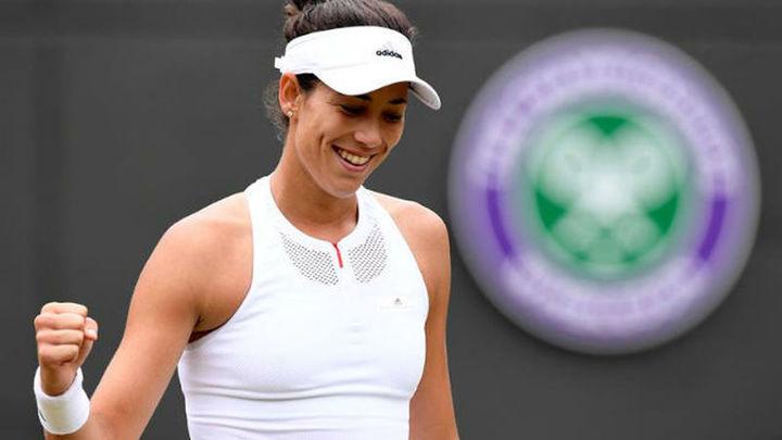 Muguruza, ¡a la final de Wimbledon!