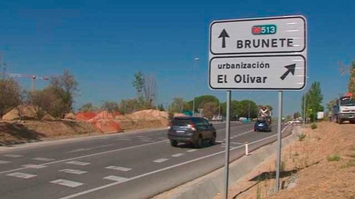 Comienzan las obras de la M-513 en Boadilla, Pozuelo y Brunete