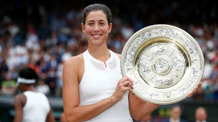Muguruza, campeona en Wimbledon