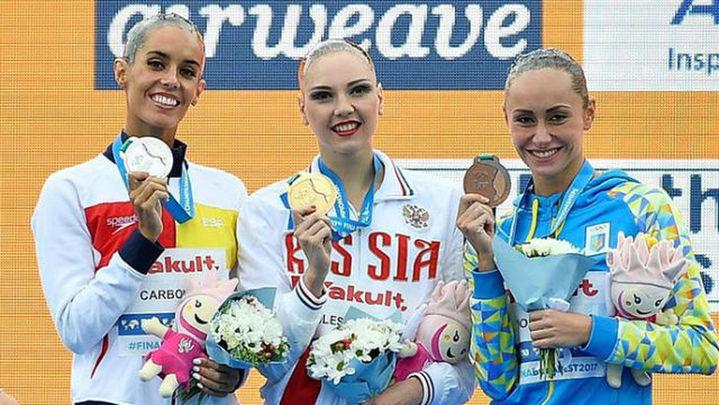 Ona Carbonell, plata en los mundiales de Budapest