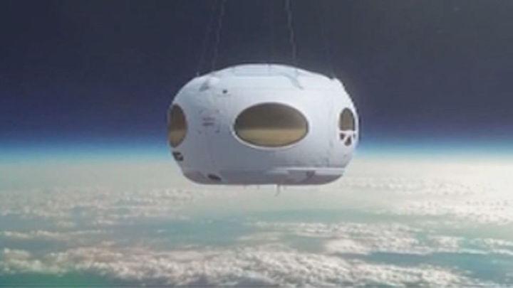 Diseñan en España la primera cápsula de turismo espacial de Europa