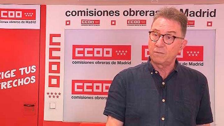 El sueldo de los madrileños se ha devaluado un 20% respecto a 2008, según CCOO