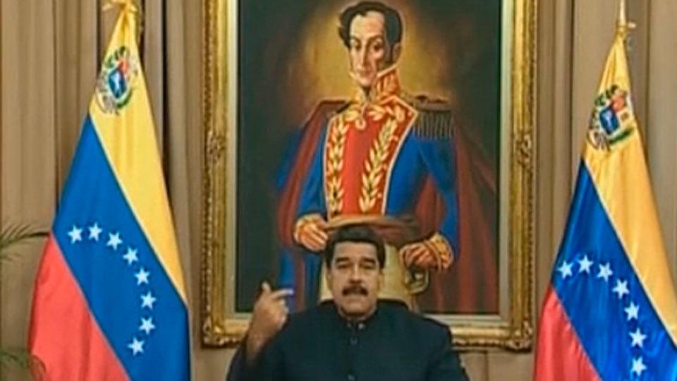 """Maduro arremete contra Trump y anuncia que cazará a """"conspiradores"""""""