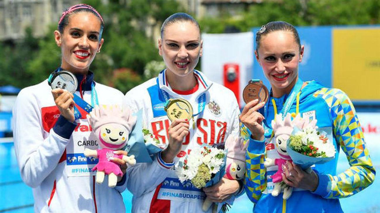 Carbonell, plata en solo libre, iguala con 20 las medallas de Mengual