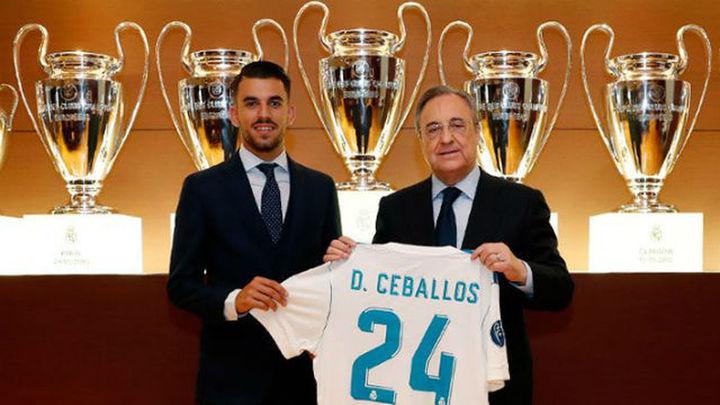 """Ceballos: """"No tuve opción de decirle que no al Real Madrid"""""""