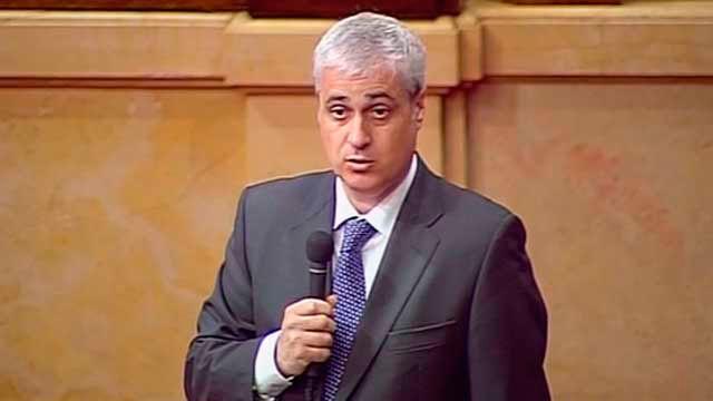 El diputado del Parlament no adscrito, Germà Gordó