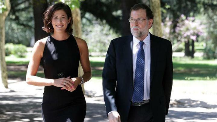 """Rajoy recibe a Muguruza y alaba su """"perseverancia y espíritu de superación"""""""