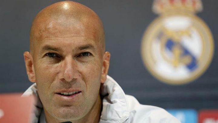 """Zidane: """"Mbappé es muy bueno y tiene personalidad"""""""