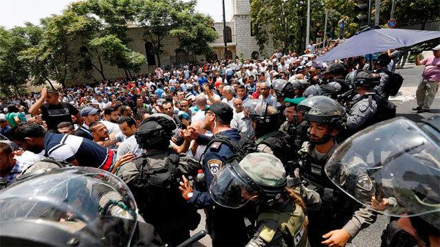 Enfrentamientos en torno a la Explanada de las Mezquitas