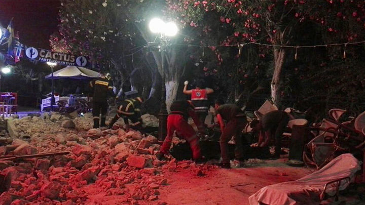 Un terremoto de 6,4 grados deja dos muertos en la isla griega de Kos