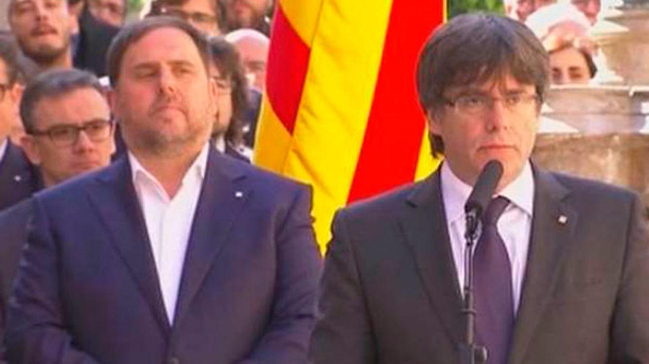 Un 49,4% de los catalanes rechaza la independencia y un 41,1% la avala