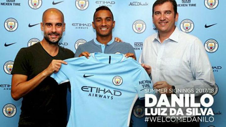 Danilo ficha por el Manchester City de Guardiola
