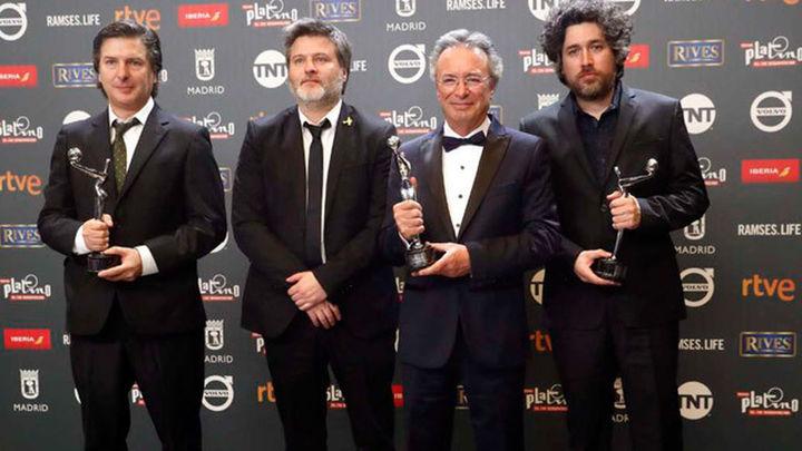 'El ciudadano ilustre', triunfadora de los Premios Platino