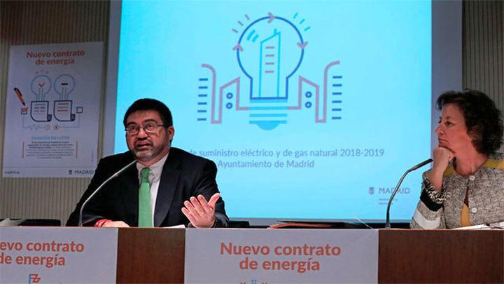 El Ayuntamiento de Madrid ahorrará 5,7 millones con el nuevo contrato energético