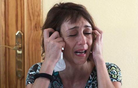 Una mujer se niega a entregar a sus hijos al padre, condenado por maltrato