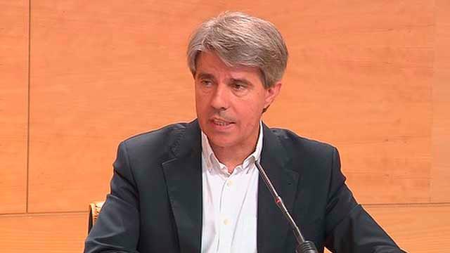 El consejero  de Presidencia y Justicia y portavoz del Ejecutivo autonómico, Angel  Garrido