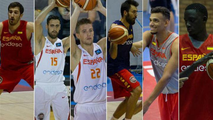 Vives, Sastre, Rabaseda, Oriola, Saiz y Diop, elegidos en la prelista del Eurobasket