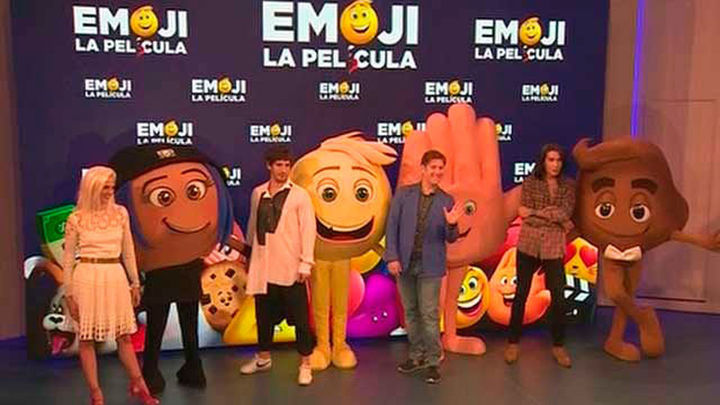 Quim Gutiérrez y Macarena Gómez, doblan 'Emoji. La película'