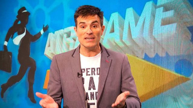 Luis Larrodera presentará en Telemadrid el concurso 'Atrápame si puedes'