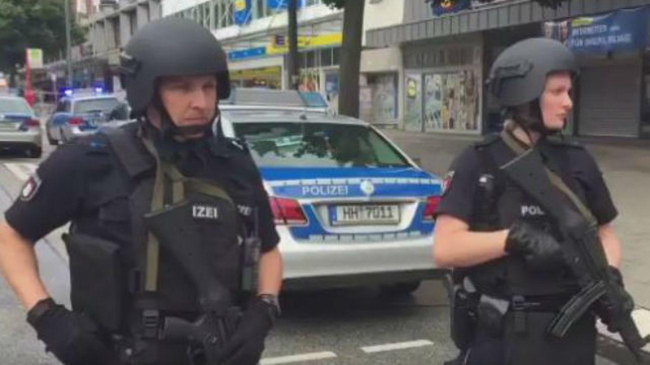 Un muerto en un ataque a cuchilladas en un supermercado de Hamburgo