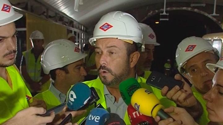 Completado en 25 días el 40% de las obras de la Línea 5 de Metro