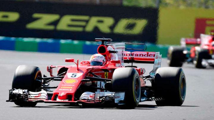 Vettel renueva tres años con Ferrari