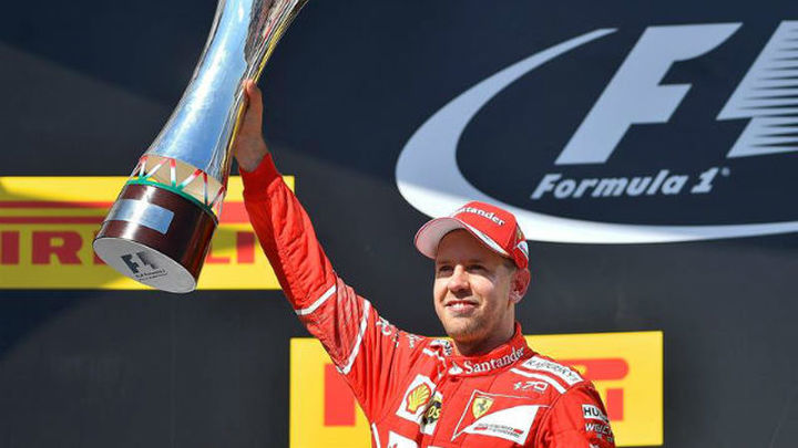 GP Hungría: Vettel gana; Alonso 6º y Sainz 7º