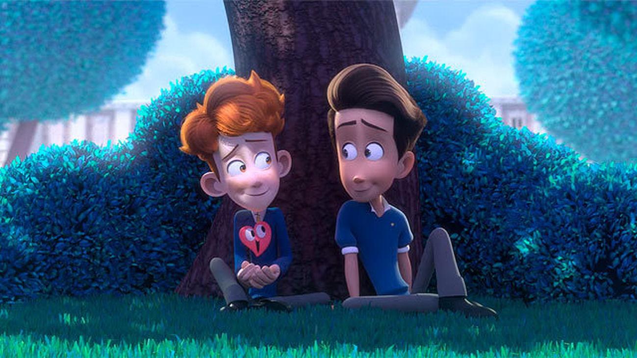 Escena del corto 'In a Heartbeat'