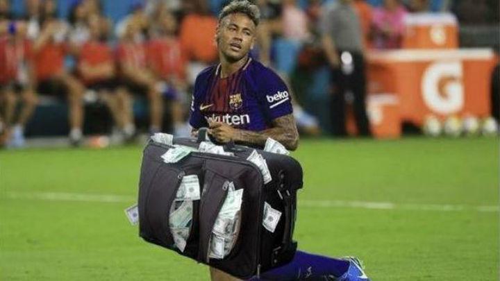 Los 'memes, no tienen piedad con Neymar tras su salida del Barça