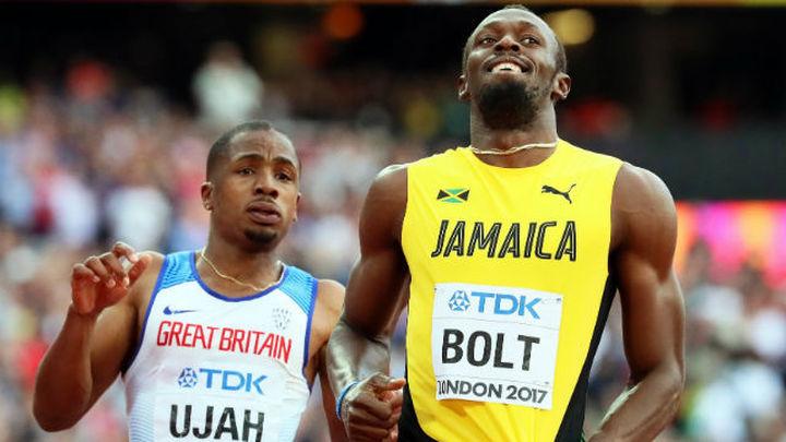 Bolt, a la final como segundo de su serie por detrás de Coleman