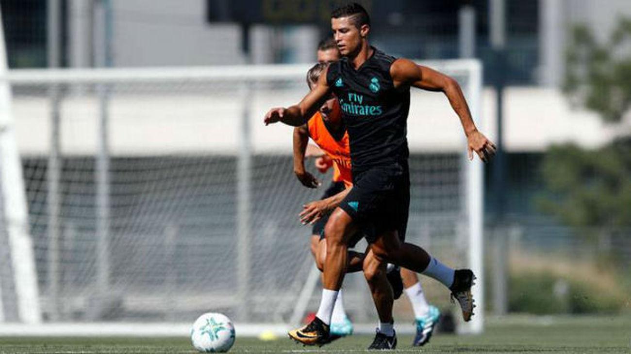 El Real Madrid comienza a preparar con Cristiano la final de la Supercopa