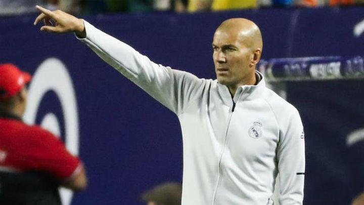 Zidane, en mejor situación que hace un año y con la única duda de Cristiano