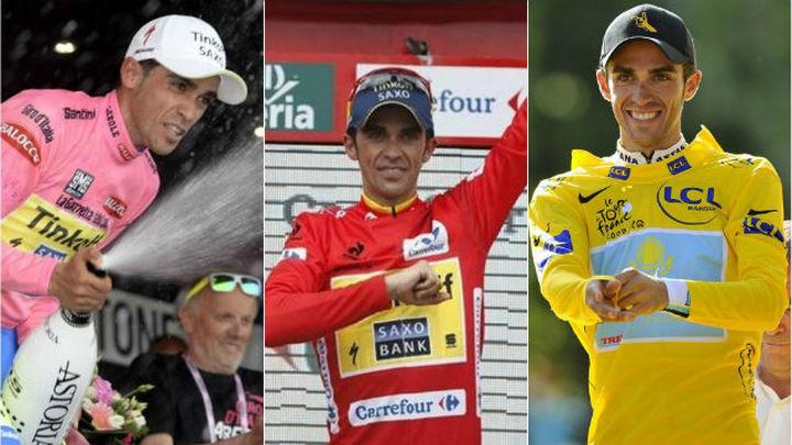 Alberto Contador, un campeón y un ciclista valiente