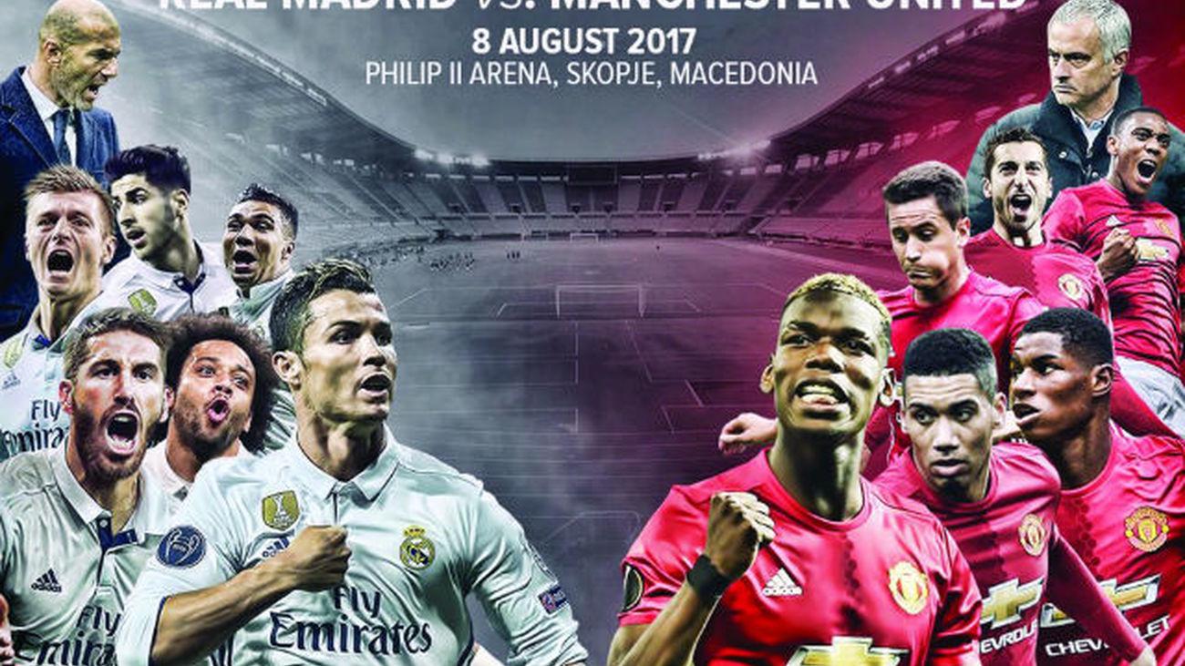 El Real Madrid inicia ante el United el sueño hacia el sextete