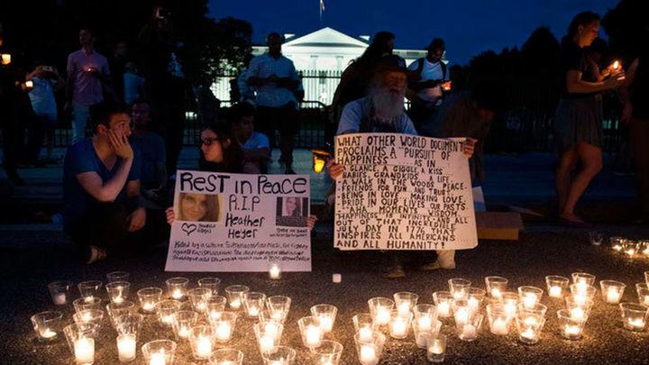 La Casa Blanca matiza la polémica condena de Trump a la violencia racial en Virginia