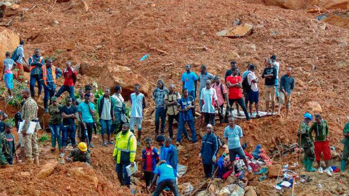 El deslizamiento de tierra deja más de 300 muertos en Sierra Leona