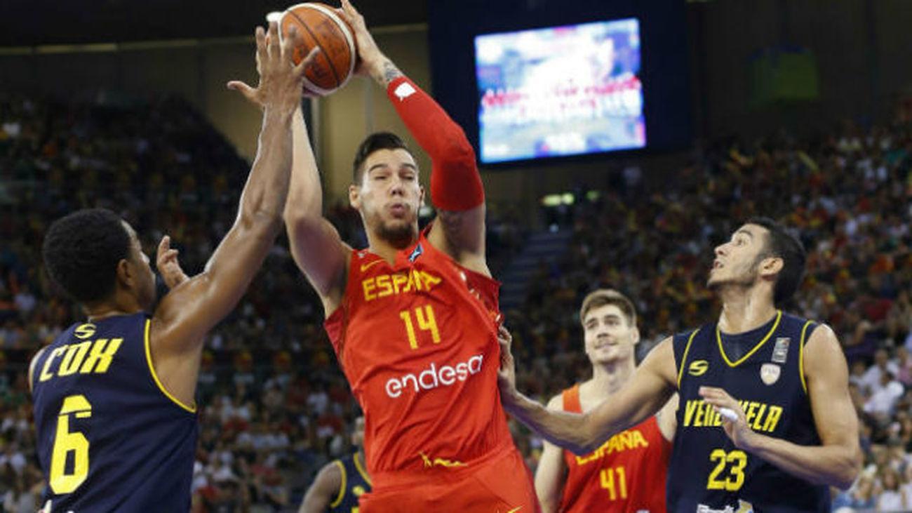 90-44. España afina su preparación apabullando al campeón de América